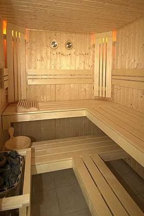 Sauna available daily between 0600 and 2200